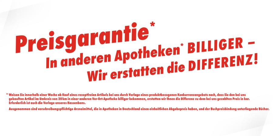 Adler Apotheke Mühlhausen - Preisgarantie