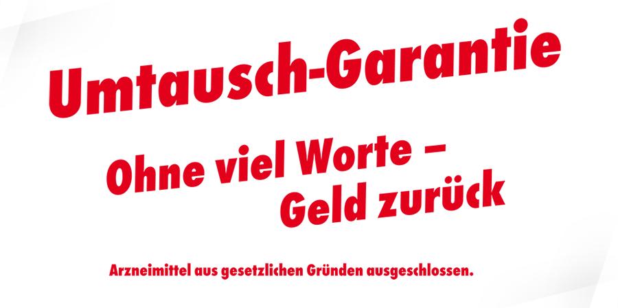 Adler Apotheke Mühlhausen - Umtausch-Garantie