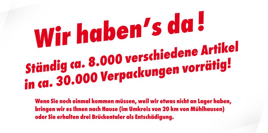 Adler Apotheke Mühlhausen - Wir haben es da!