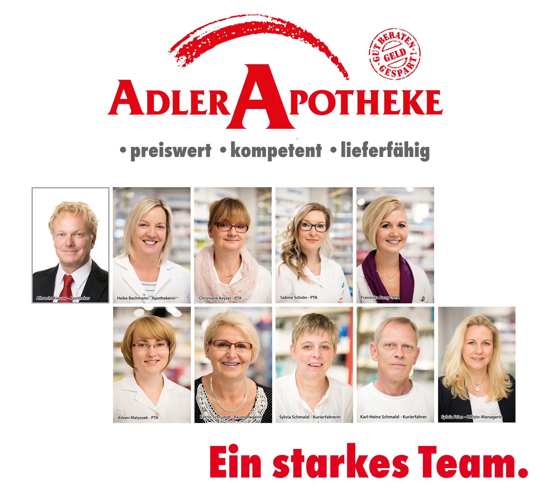 Team der Brücken-Apotheke Mühlhausen